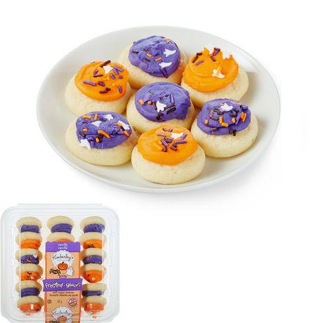 Kimberley's Bakeshoppe Halloween Mini Frosted Soft Sugar Cookies - Vanilla - image 1 of 4