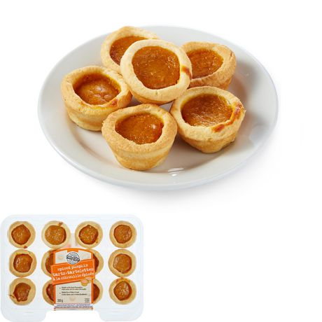 two-bite® Spiced Pumpkin Tarts - image 1 of 4