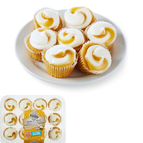two-bite® Pumpkin Spice Cupcakes - image 1 of 4
