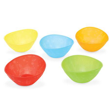 Munchkin Multi Coloured Bowl Set - image 2 of 6