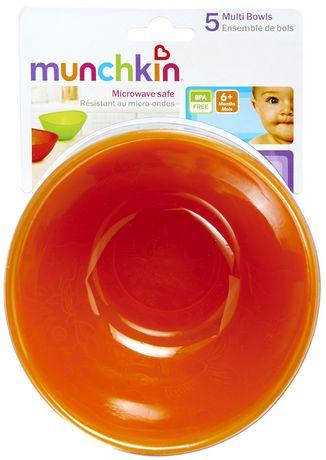 Munchkin Multi Coloured Bowl Set - image 4 of 6