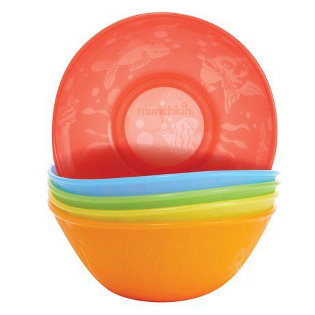 Munchkin Multi Coloured Bowl Set - image 5 of 6