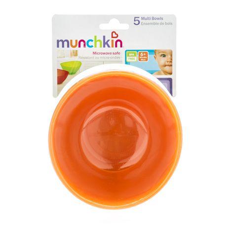 Munchkin Multi Coloured Bowl Set - image 6 of 6