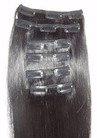 Extensions de cheveux humains à fixer Fashion Hair de style raide - image 2 de 6