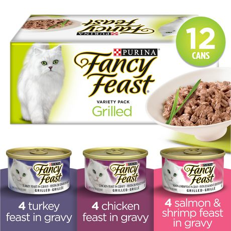 Fancy Feast Wet Cat Food, Grilled in Gravy Variety Pack - image 1 of 5