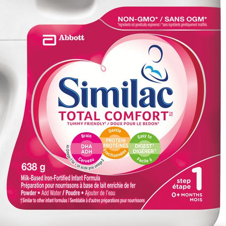 Similac Total Comfort Omega-3 & Omega-6 Baby Formula Powder, 638 g - image 2 of 9
