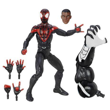 Figurine articulée Hommes-araignées suprêmes : Miles Morales Legends Series de Spider-Man par Marvel - image 2 de 2