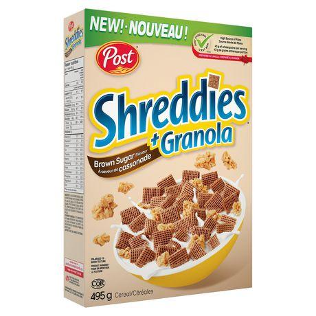 Post Shreddies Brown Sugar Flavour + Granola 395g - image 2 of 2