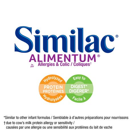 Similac Alimentum Hypoallergenic Ready-To-Use Baby Formula, 4 x 237 mL - image 3 of 9