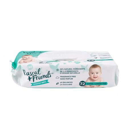 Rascal + Friends Sensitive Baby Wipes - image 8 of 8