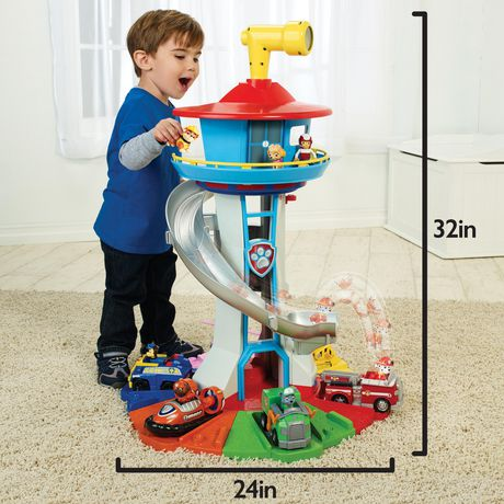 paw patrol my size lookout tower canada