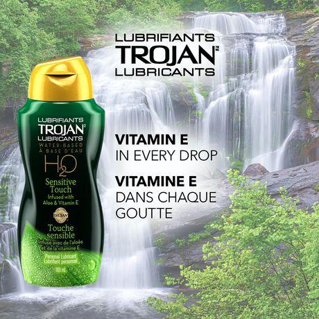 is trojan lube water based
