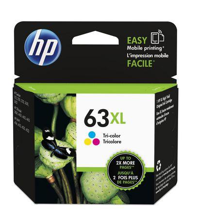 HP 63XL Tri-colour High Yield Original Ink Cartridge ...
