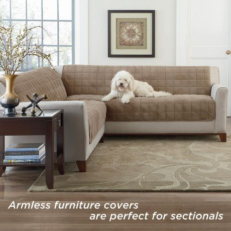 Sure Fit Deluxe Pet Sofa Furniture, Pet Furniture Cover