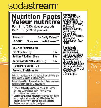 SodaStream Iced Tea Peach - image 2 of 2