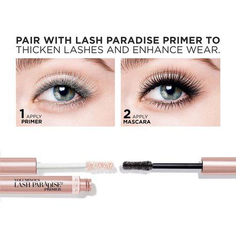 L'Oréal Paris Mascara Voluminous Lash Paradise Voluptuous Volume and Length  Black Brown - image 9 of 9