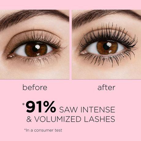L'Oréal Paris Mascara Voluminous Lash Paradise Voluptuous Volume and Length  Black Brown - image 5 of 9