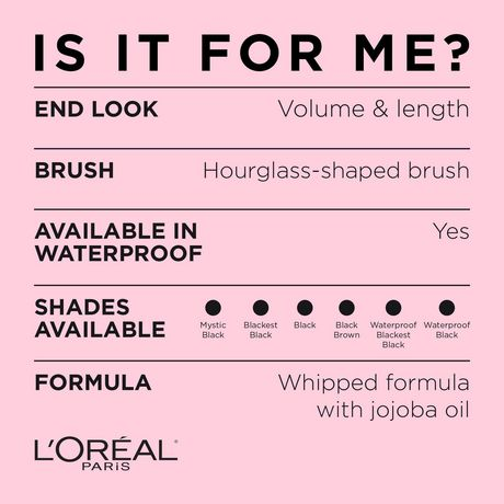 L'Oréal Paris Mascara Voluminous Lash Paradise Voluptuous Volume and Length  Black Brown - image 6 of 9