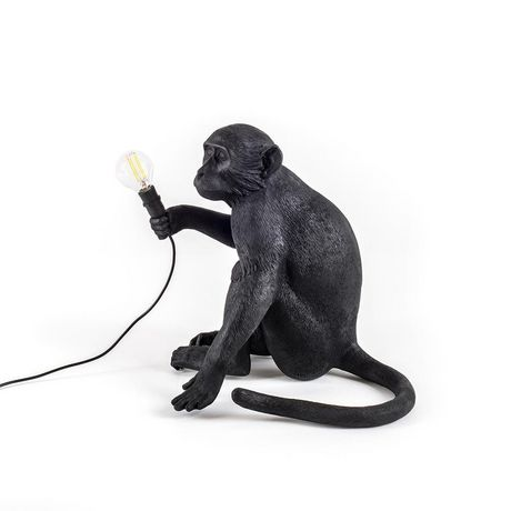 Monkey Table Lamp 1 in Black - image 2 of 3