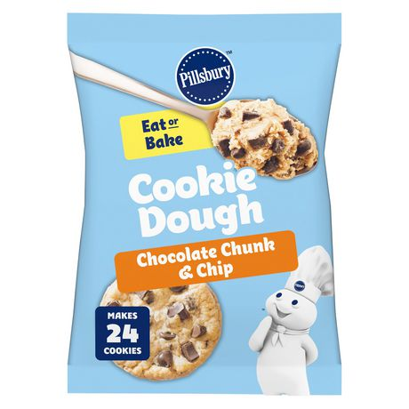 Pillsbury Ready To Bake Chocolate Chunk And Chip Cookies