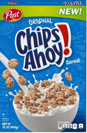 POST ChipsAhoy! Cereal - image 1 of 1