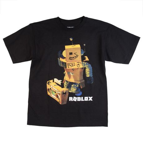 ROBLOX BLACK BOYS TEE - image 1 of 1