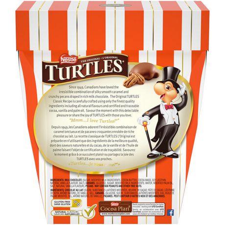 Chocolat au lait, pacane et caramel doux Original de TURTLES(MD) - image 4 de 4