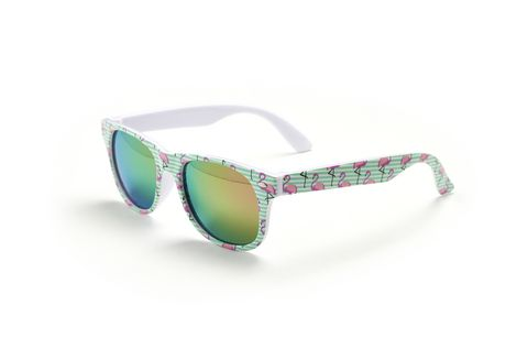 George Girls' Flamingo Print Sunglasses - image 1 of 1