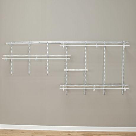 Rangement ShelfTrack ClosetMaid de 2,13 à 3,05m (7 à 10pi) - image 3 de 4