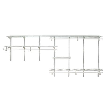 Rangement ShelfTrack ClosetMaid de 2,13 à 3,05m (7 à 10pi) - image 2 de 4