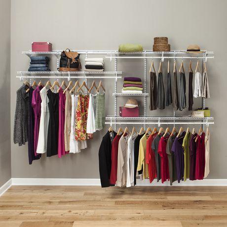 Rangement ShelfTrack ClosetMaid de 2,13 à 3,05m (7 à 10pi) - image 4 de 4