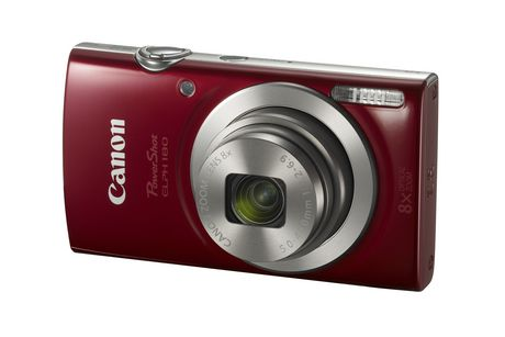 Canon PowerShot Elph 180 Digital Camera - image 1 of 7