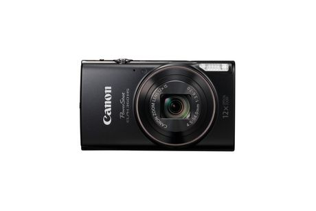 Canon Powershot ELPH 360 HS Silver Digital Camera - image 1 of 7
