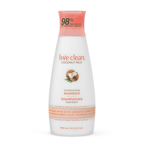 Live Clean Coconut Milk Moisturizing Shampoo by Live Clean