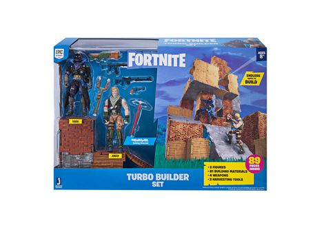 Fortnite Turbo Builder Set 2 Figure Pack - image 1 of 2