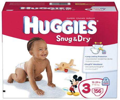 Huggies Snug & Dry Diapers Giant Pack - image 2 of 4