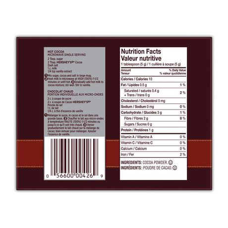 Hershey's Natural Unsweetened Cocoa - image 4 of 4