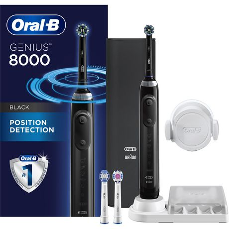 Oral-B Genius 8000 Electric Rechargeable Toothbrush Powered by Braun - image 1 of 9