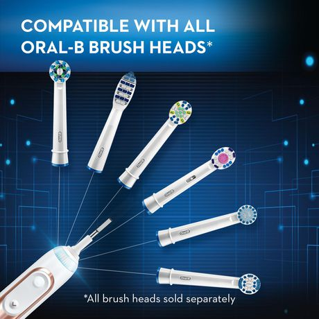 Oral-B Genius 8000 Electric Rechargeable Toothbrush Powered by Braun - image 7 of 9