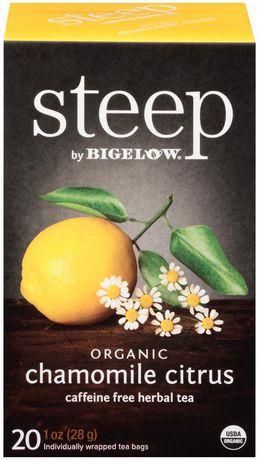 Steep by Bigelow Organic Chamomile Citrus Tea - image 1 of 1