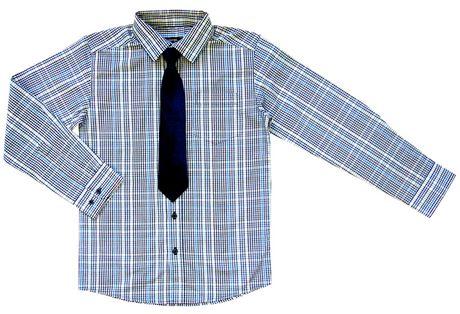 Chemise habillée à manches longues George pour garçons avec cravate - image 1 de 1