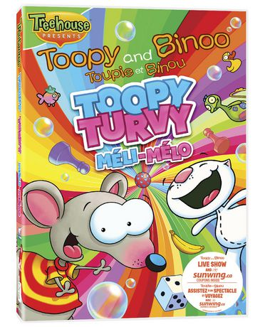 Toopy and Binoo - Toopy Turvy DVD - image 1 of 1