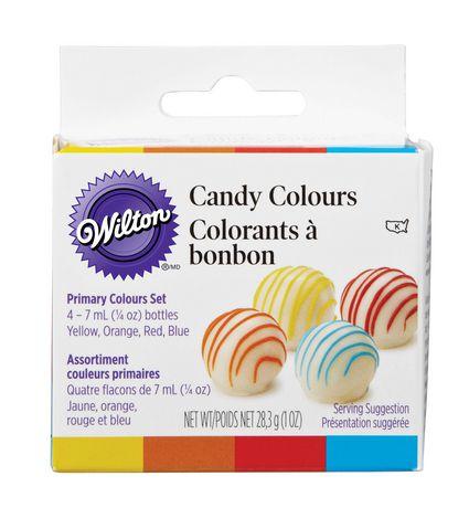 Assortiment de colorants à bonbon couleurs primaires - image 1 de 1