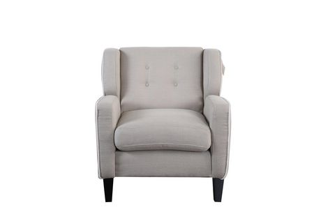 Topline Home Furnishings Beige Accent Chair - image 2 of 3