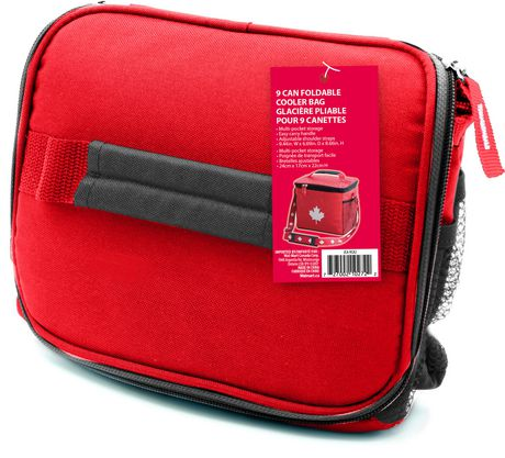 39feaf3dec0 Canada Day 9 Can Foldable Cooler Bag - image 2 of 2 ...