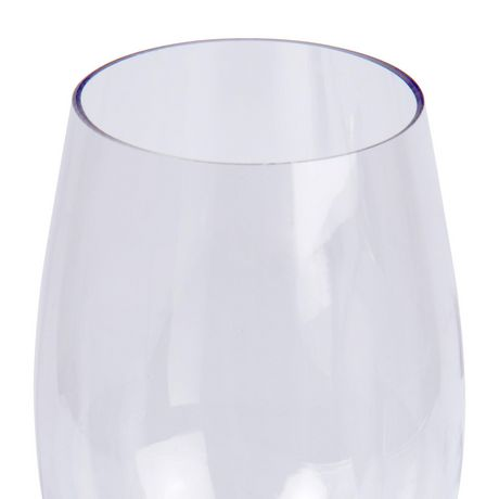 Luciano Shatterproof Plastic Stemless Wine Glass - image 3 of 3