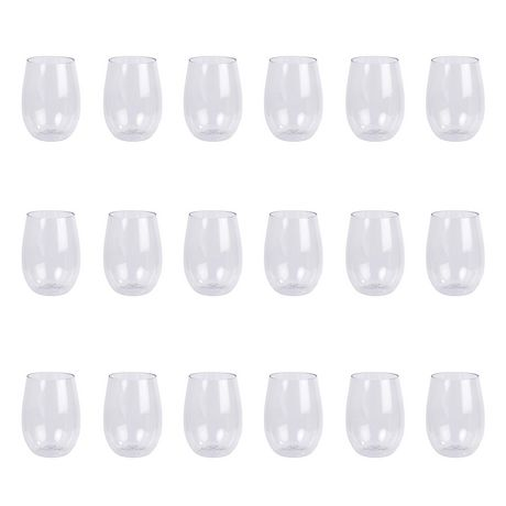 Luciano Shatterproof Plastic Stemless Wine Glass - image 1 of 3