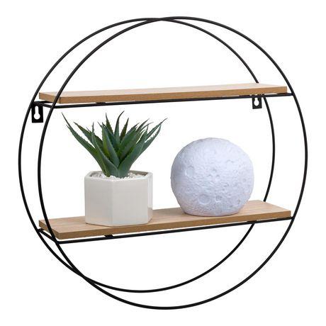 Truu Design Decorative Round Floating Wall Shelf - image 1 of 5