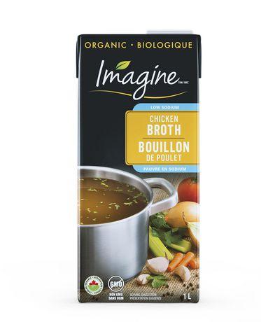 Imagine Bouillon de poulet biologique à faible teneur en sodium - image 1 de 3