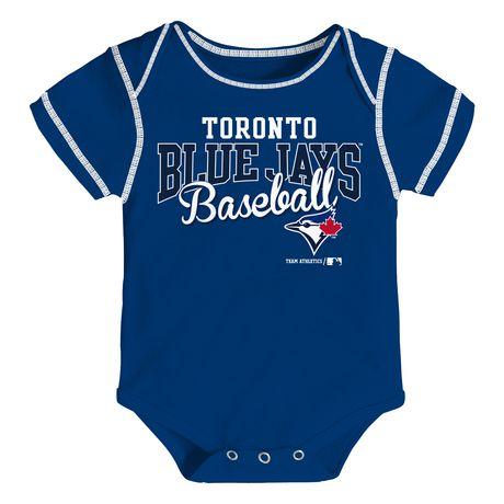new product b60a6 b794d MLB Toronto Blue Jays 3-Pack Onesie
